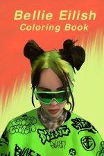 Billie Eilish Coloring Book: for Big Eillish Fans