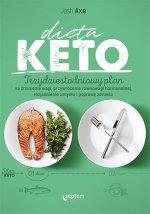 Dieta KETO. Trzydziestodniowy plan na zrzucenie wagi, przywrócenie równowagi hormonalnej