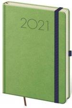 Diář 2021 týdenní A5 New Praga - zelená