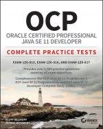 OCP Oracle Certified Professional Java SE 11 Developer Practice Tests
