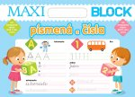 Maxi Blok - písmená a čísla