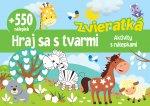 Zvieratká +550 nálepiek