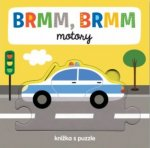 BRMM, BRMM motory - Knížka s puzzle