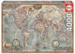 Educa Puzzle.  Historic World Map 4000 Teile