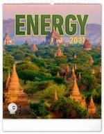Nástěnný kalendář Energie 2021