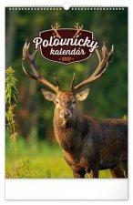 Kalendář 2021 nástěnný: Poľovnícky (slovenská verze), 33 × 46 cm