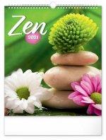 Nástěnný kalendář Zen 2021
