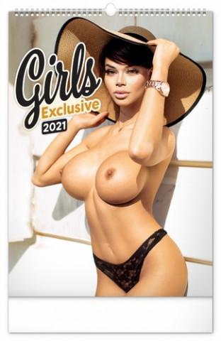 Nástěnný kalendář Girls Exclusive Martin Šebesta 2021