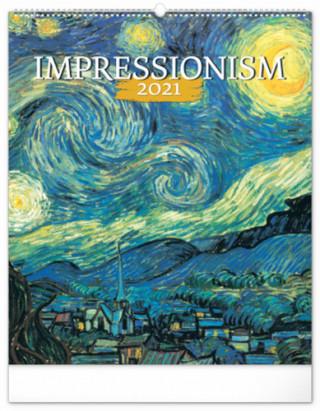 Nástěnný kalendář Impresionismus 2021