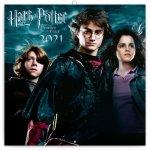 Kalendář 2021 poznámkový: Harry Potter, 30 × 30 cm