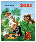 Nástěnný kalendář Krteček 2021