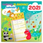 Kalendář 2021 Rodinný plánovací CZ, 30 × 30 cm