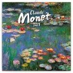 Kalendář 2021 poznámkový: Claude Monet, 30 × 30 cm