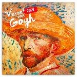 Kalendář 2021 poznámkový: Vincent van Gogh, 30 × 30 cm