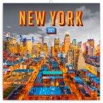 Poznámkový kalendář New York 2021