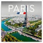 Poznámkový kalendář Paříž 2021