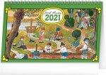 Stolní kalendář Josef Lada Na vsi 2021