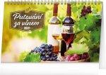 Stolní kalendář Putování za vínem 2021