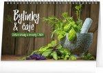 Stolní kalendář Bylinky a čaje 2021