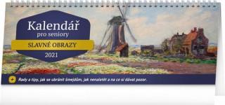 Stolní kalendář Kalendář pro seniory 2021
