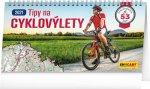 Kalendář 2021 stolní: Tipy na cyklovýlety, 30 × 16 cm