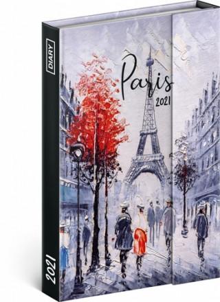 Týdenní magnetický diář Paříž 2021
