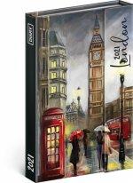 Týdenní magnetický diář Londýn 2021