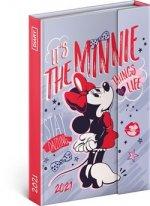Týdenní magnetický diář Minnie 2021