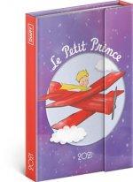 Diář 2021: Malý Princ - Letadlo - týdenní, magnetický, 11 × 16 cm