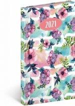 Kapesní diář Cambio Fun 2021, Květiny