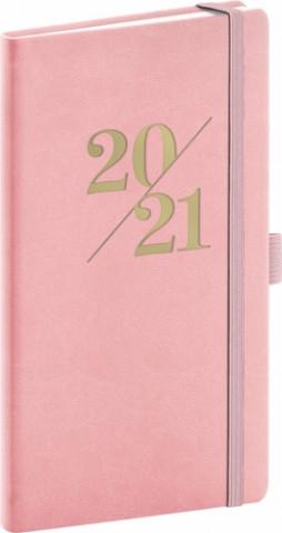 Kapesní diář Vivella Fun 2021, růžový