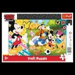 Puzzle Mickey Mouse na venkově