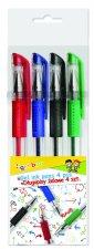 Długopis Gimboo żelowy classic 0,5mm 4 kolory
