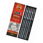 Ołówek Koh-i-Noor grafitowy progresso 8915 /hb 2b 4b 6b 8b 4b aquarell komplet