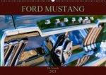 Ford Mustang - Die Legende (Wandkalender 2021 DIN A2 quer)