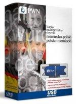 Pendrive wielki multimedialny słownik niemiecko-polski polsko-niemiecki