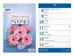 Trhací - nástěnný kalendář 2021