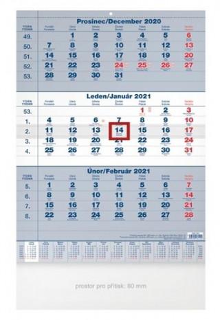 Tříměsíční - nástěnný kalendář 2021
