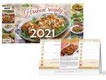 Hrnkové recepty (čtrnáctidenní) - stolní kalendář 2021
