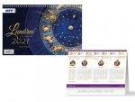 Lunární - stolní kalendář 2021