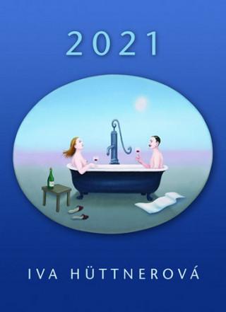 Kalendář 2021 - Iva Hüttnerová/nástěnný