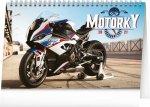 Stolní kalendář Motorky 2021