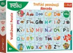 Puzzle Treflíci poznávají abecedu