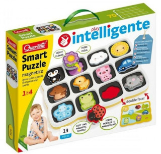 Smart Puzzle magnetico first colors and words