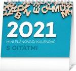 Stolový kalendár Plánovací s citátmi 2021