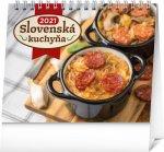 Stolový kalendár Slovenská kuchyňa 2021