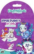 Vymaľovanky na cesty Enchantimals