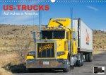 US-Trucks - Auf Achse in Amerika (Wandkalender 2021 DIN A3 quer)