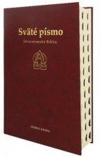 Sväté písmo - Jeruzalemská Biblia (bordová) 9.vydanie