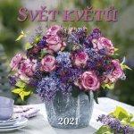 Svět květů 2021 - nástěnný kalendář
